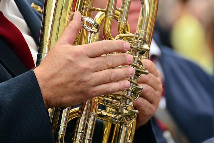 Konzert des Blasorchesters Izola