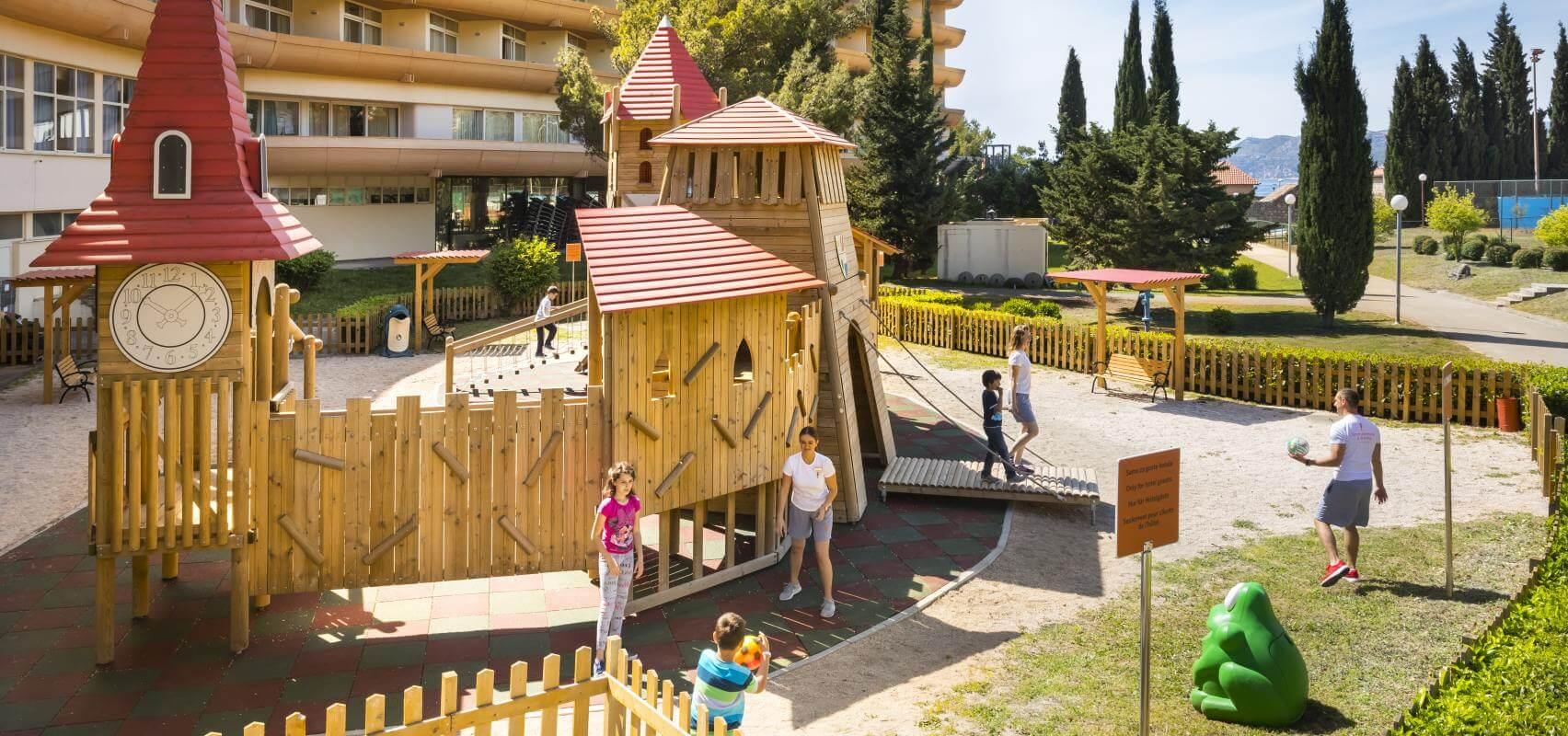 Hotel Albatros Cavtat In Croatia Remisens Kids Outdoor Fitness Circuit Free Printable This Fun Summer Activity Images Map