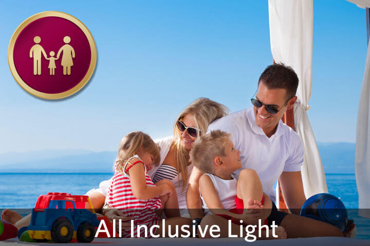 Holiday for the entire family - All Inclusive light